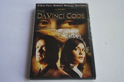 The Da Vinci Code (Full Screen Two-Disc Special Edition),New DVD, Tom Hanks, Aud