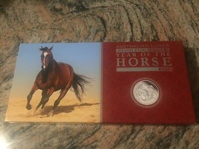 Lunar Series Horse - Proof 3 Coin Set Low Coa #9 !