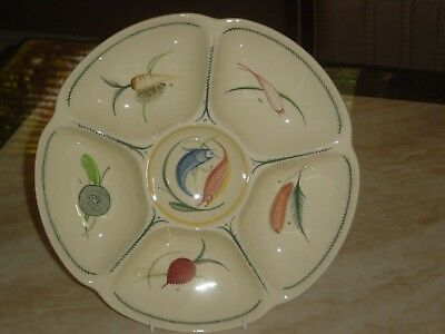 SUSIE COOPER. CROWN WORKS. LARGE HORS D' OEUVRES SERVER. ART DECO. c1935