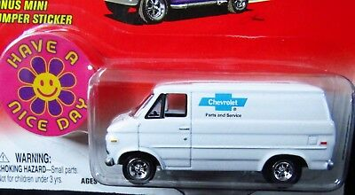 Johnny Lightning 77 1977 Chevy G-20 Van Boogie Vans Chevrolet Parts & Service +