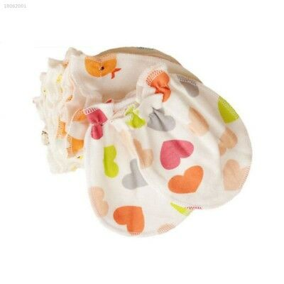59C3FF0 100% COTTON GLOVES NEW BORN BABY ANIMAL protect soft infant No Scratch