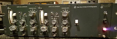 Vintage Neve 2254A Compressor Limiter Pair in factory Neve racks - clean