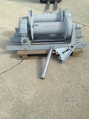 Braden Winch Model MS10-23A Worm Gear Winch 20,000 Pound Rated Rebuilt