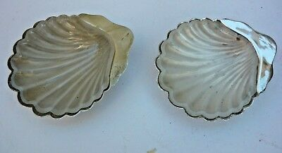 Pair of EP clamshells with glass liners made for Farmers Dept Store Sydney. GCdn