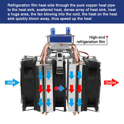 12V 120W 180W Peltier Refrigeration Semiconductor Thermoelectric cooler kit UK