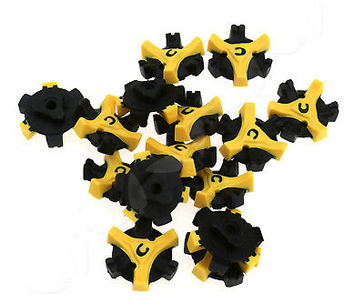 15Pcs Trendy Design Q-Lok Easy Replacement Spikes Cleats Golf Shoes