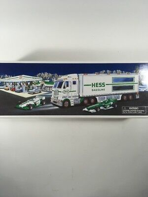 Hess Toy Truck and Racecars 2003 NEW IN BOX - FREE SHIPPING