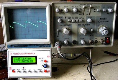 BK Precision Model 2120 Dual-Trace Oscilloscope - with new leads!