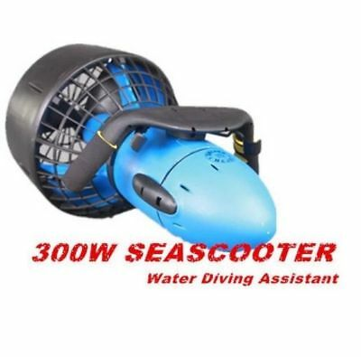 Underwater 300W Electric Sea Scooter Dual Speed Propeller Diving Snorkeling