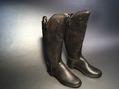 Vintage Candee Minature Rubber Boots, Salesman' Sample, New Haven Conn.