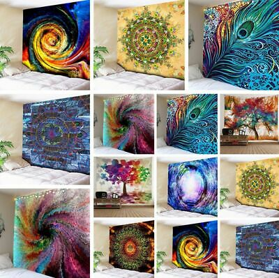 New Psychedlic Colorful Print Tapestry Art Room Wall Hanging Tapestry Home Decor