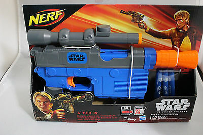 Star Wars Episode VII Nerf Han Solo Blaster - FREE SHIPPING
