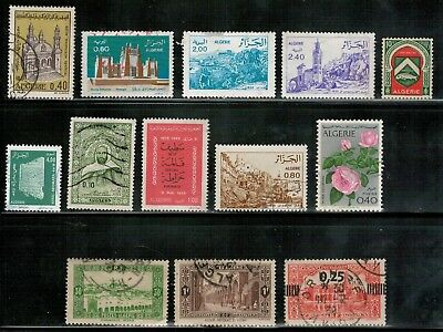 Lot 4958 - Algeria - Used selection of 14 stamps from various years