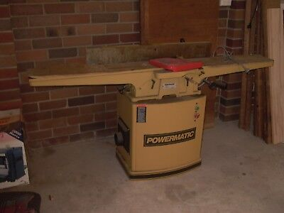 Jointer 8 inch 72 inch bed POWERMATIC brand 2 HP