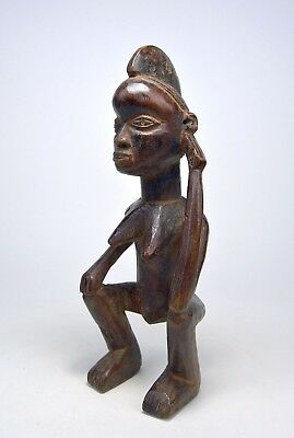A Rare Antique Female Holo sculpture , African Tribal Art