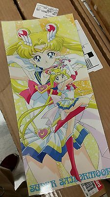 Sailor Moon Super S Poster color 8x17 laminated.