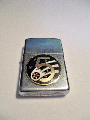 Vintage WWII U.S Air Force USAF 5th Pin ZIPPO Lighter