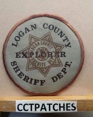 Logan County, Colorado Sheriff Explorer (Police) Shoulder Patch Co