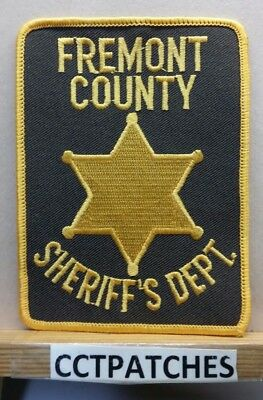 Fremont County, Colorado Sheriff (Police) Shoulder Patch Co
