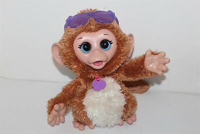 Furreal Friends Baby Cuddles My Giggly Monkey Battery Operated