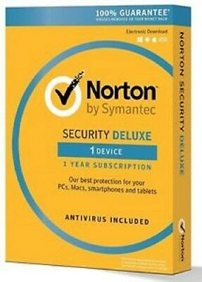 Norton Security Deluxe 1 Year 1 PC 2019 (Best Deal) Download - 100% Working