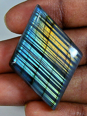 Natural Multi labradorite Cabochon Gemstone Fancy 67.00cts.;#95802