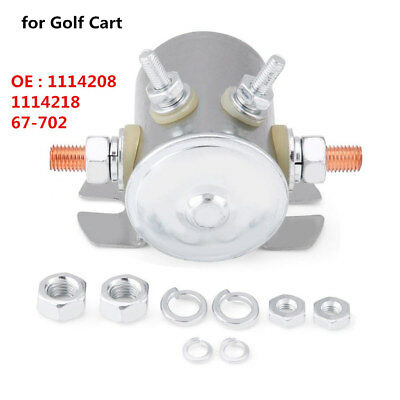 12V Continuous Duty Solenoid Relay Switch for Golf Cart 1114208 1114218 67-702