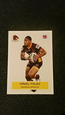 2009, Israel Folau scanlens rugby league card