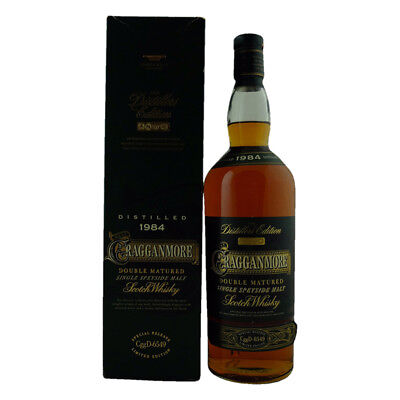 Cragganmore 1984 Distillers Edition First Release Single Malt Scotch Whisky