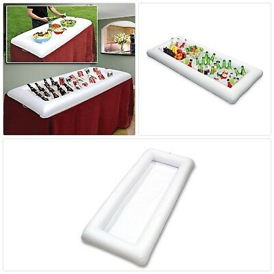 Buffet Inflatable Salad Serving Bar ,Party Food And Drinks Cooler with Drain Plu