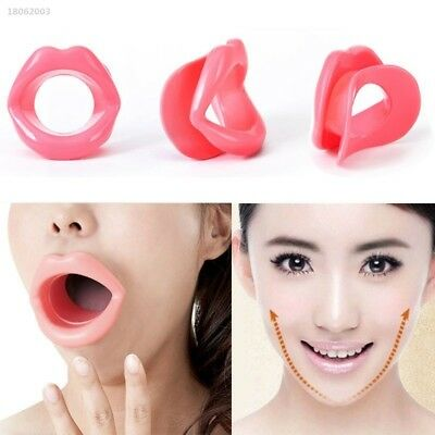 8CC5549 Silicone Rubber Face Slimmer Mouth Muscle Tightener Lip Oral Chin Care