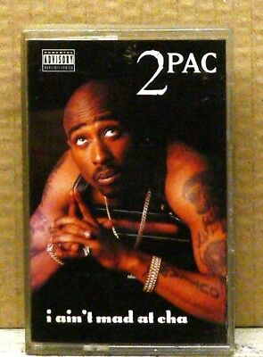 2PAC - I Ain't Mad At Cha Cassette Single HIP-HOP RAP DEATH ROW RECORDS