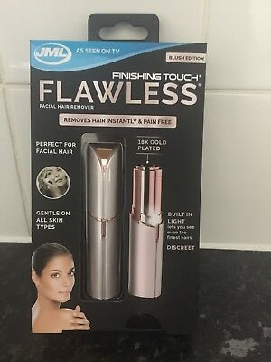 JML Finishing Touch Flawless The gold-plated, discreet hair remover