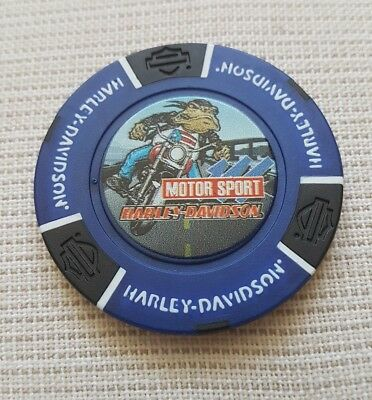 "1 originale Harley Davidson Pokerchips ""115 years  San Juan Puerto Rico   """