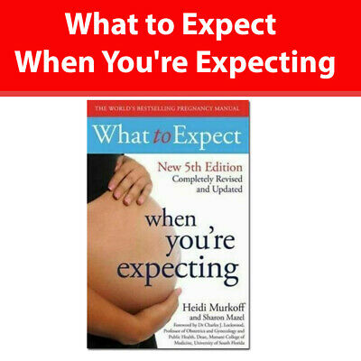 What to Expect When You're Expecting 5th Edition by Heidi Murkoff [PB] book NEW
