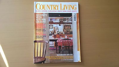 Country Living Magazine, October 2000, Decorate With Autumn Colours