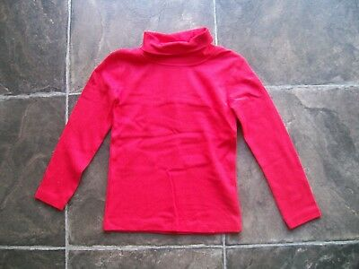 BNWT Boy's/Girl's Unisex Red Cotton Knit Skivvy Size 1, 2, 4 & 5