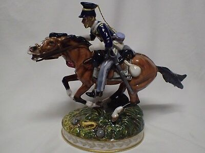 """Royal Doulton 2002 """"CHARGE OF THE LIGHT BRIGADE"""" Figurine - HN4486 - VERY RARE"""
