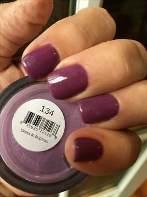 SNS #134 DRESS TO IMPRESS Signature Nail Systems Dip Colour NEW & PREBONDED
