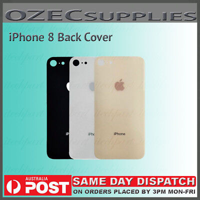 iPhone 8 OEM Original Glass Back Cover Housing with Adhesive Replacement