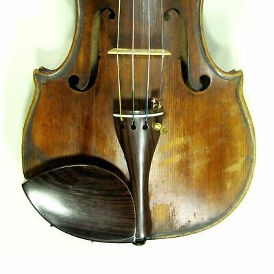 Fine Old French Baroque Violin c 1770 setup ready to play written name Michelot