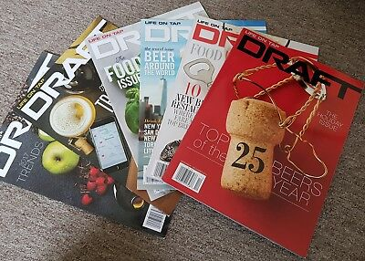 Draft Beer Magazine Life On Tap USA Craft Beer 6 Editions