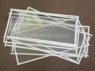 10 Replacement Protection Screens to Protect glass on Magnum Sand Blast Cabinet