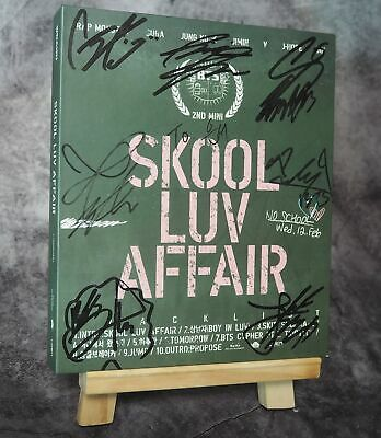 BTS Signed Luv Affair 2nd Signature Album CD Limited Edition Korea KPOP
