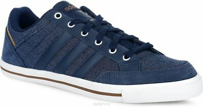 official photos 7bd6f 08c29 ... reduced adidas neo cacity mens classic casual retro plimsol trainers  navy 5d6c9 579c4