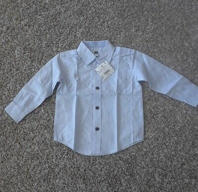 JANIE AND JACK Boys Size 6 to 12 month . Dress shirt. Brand New w/ tags.