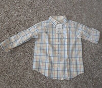 JANIE AND JACK Boys Toddler Size 2T. Dress shirt. Brand New with tags.