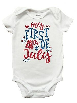 My First 4th of July Shirt, Fourth of July Shirt for Girls
