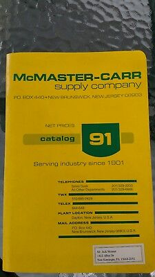 Mcmaster- Carr Supply Catalog 91-1985 Many Asbestos Clothing Gloves & More Legal