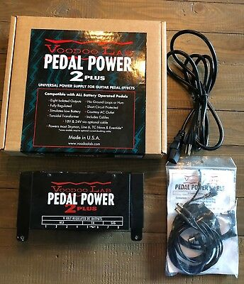Voodoo Lab Pedal Power 2 Plus - Box and cables included